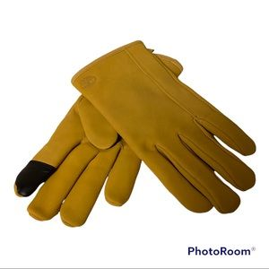 Timberlake Goat Suede Leather Nubuck TouchScreen  Gloves
